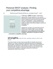 (2) Personal SWOT analysis- Finding your competitive advantage — Love and the sky.pdf