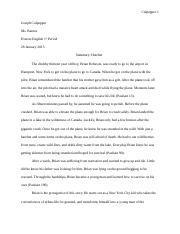 beowulf questions joseph culpepper mrs jones brit lit th  3 pages joseph culpeppe1jmc english summary hatchet