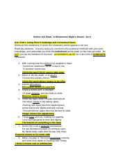 _Before You Read - A Midsummer Night's Dream - Act 1 (1).docx