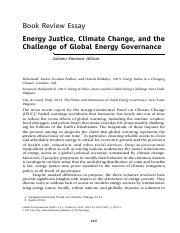 Allison, J.E. (2015) Energy Justice, Climate Change and the Challenge of Global Energy Governance.pd