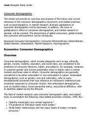 Consumer Demographics Research Paper Starter - eNotes.pdf