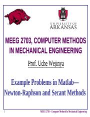 Example-Graphical-Newton_Raphson and Secant Methods