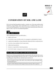 17_Conservation of Soil and Land