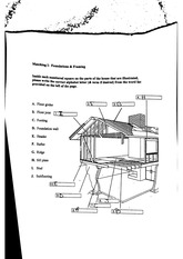 Homes and Interiors 7th edition Unit 3 Foundation and Framing Worksheet