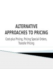 TM9 Alternative approaches to pricing.pptx