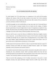 Essay proposal 2 -Nguyen Hoang Duy-International relation