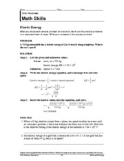 Printables Holt Science Spectrum Worksheets holt science spectrum 84 work and energy math physical s 3 pages kinetic e math