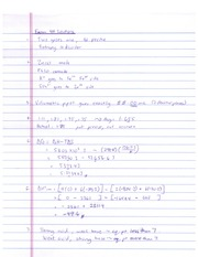 Ong 1212K Spring 2013 Exam 4A Solutions