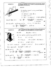 956_Mechanics Homework Mechanics of Materials Solution