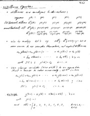 MATH 001 Differential Equations Notes