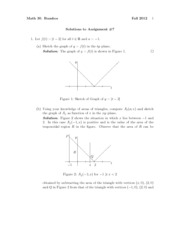 Math30Fall2012Assignment7Solutions