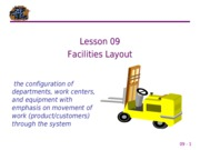 09 Facilities Layout