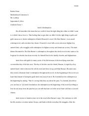 Analysis Essay 1 Multi Culture Literature Right