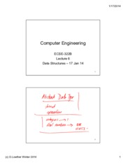 Lecture 6 Data Structures 17 Jan 14 annotated