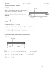 HW #13 Solutions
