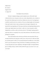 The Alchemist Narrative Piece REVISED.docx
