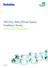 Private Equity Confidence Survey 2014- East Africa in Oil and Gas.pdf