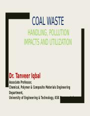 Lecture 3 Coal Waste.pptx