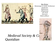 Lecture22-Quotidian Life in Medieval Period
