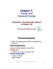 Chapter-7-Thermochemistry