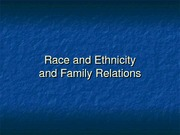Race and Ethnicitynotes
