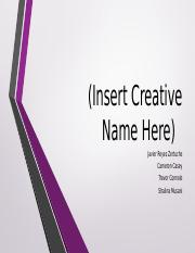 Insert Creative Name Here final simulation presentation.pptx