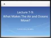 Lecture 7-9 Atmospheric Fluids
