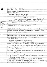 Econ152a final review notes