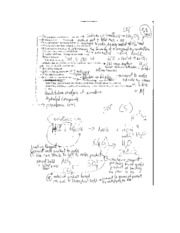 Test 2 Review Notes