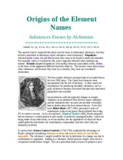 Origins of the Element Names_alchemists