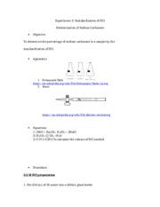 chm 237 lab 10 report essay