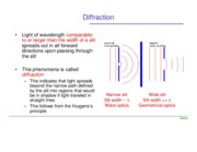 Lectures on diffraction