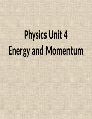 Energy and Momentum PowerPoint.pptx
