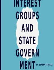 Interest Groups and State Government.pptx