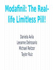 Modafinil- The Real-life Limitless Pill! (2)