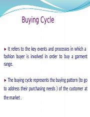 13 FM Buying Cycle