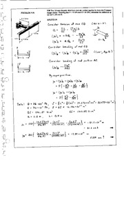 1106_Mechanics Homework Mechanics of Materials Solution