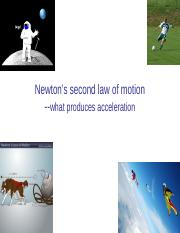 04_lecture-Newton's 2nd law