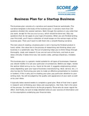 Business-Plan-for- a-Startup