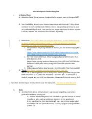 Module6-Narrative Speech OutlineRev..docx