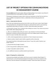 Project - Communications in Management.docx