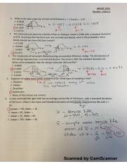 Review exam 2 - answers (1)