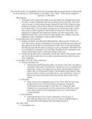 HIST 1378 - Buzzanco - Exam 2 Review - Essay 5