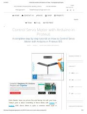 Control Servo Motor with Arduino in Proteus - The Engineering Projects.pdf