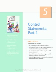 control statments2