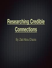 AbouChacra_Ziad_Researching Credible Connections.pdf
