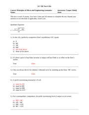 Practice Test 3 with Solutions