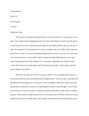 english eng college composition i cuyahoga 2 pages diagnostic essay