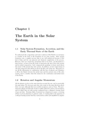 EAS 217 ch1. Earth in the Solar System