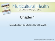 Chapter 1 Introduction to Multicultural Health Lecture